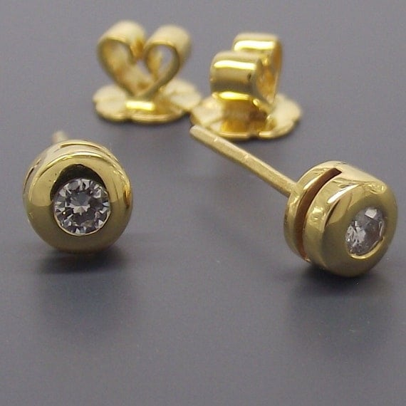 Earrings for men luminous diamond stud earrings by 360Jewels