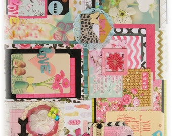 Pretty Things- Love Collection #1: Scrapbook Kit, Mixed Media Kit, Journal Kit