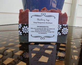 Blackberry Sage Bar Soap