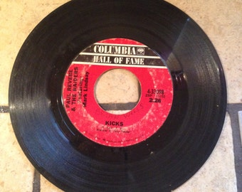 Kicks/Just Like Me by Paul Revere and the Raiders Record by Columbia Records