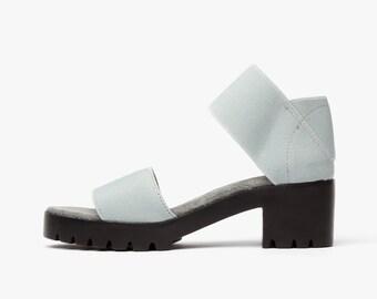 JRS Dual Strap Sandals - Grey