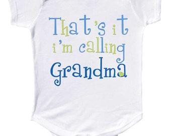 Funny Baby Boy Bodysuit For new Grandmas and Grandpas Newborn Creepers to Kids Tees