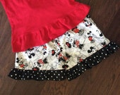 Girls Minnie Mouse Shorts