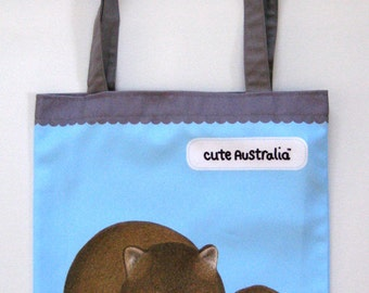 Cute Australia wombat bag