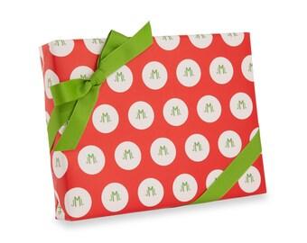 Monogram Gift Wrap