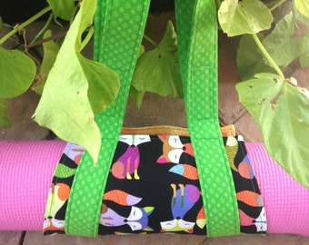 Child's Yoga Mat Strap, Carrier, or Sling
