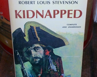 Kidnapped by Robert Louis Stevenson Vintage Paperback Book
