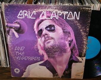 Eric Clapton And The Yardbirds Vintage Vinyl Record