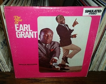 The Best Of Earl Grant Vintage Vinyl Double Album