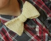 Bow Tie in Cream
