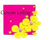 Custom Listing for Sandra Williams