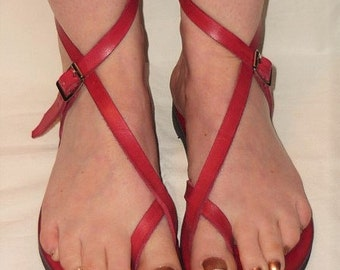 Venus - Goddess Collection - Leather Sandal