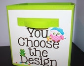 On SALE now Choose Any Kid's Bedroom Baby Nursery Fabric Bin Organizer for Toys or Clothing