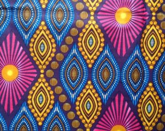 Whole boltAfrican wax print. Six yards of African print. Wax print fabric. African wax fabric.