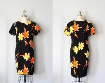 vintage darkly bold HELENIUM dress
