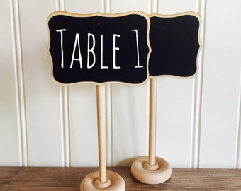 24 Fancy Mini Chalkboard Stands with Chalkboard Label  -24- Place Settings,Wedding Chalkboards, Rustic Wedding, Farmers Market Signage