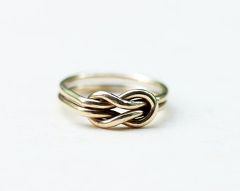 14K Gold Knot Ring - Size 5.25
