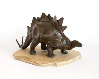 Vintage Dinosaur Model Stegosaurus