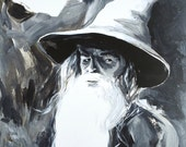 Gandalf The Grey (8.5X11 Art Print)
