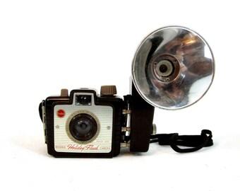 Vintage Kodak Brownie  Holiday Flash Camera. Circa 1950's.