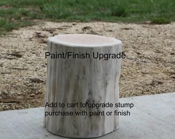 Tree stump table | Etsy