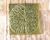 Ceramic Tile - Waterlily Tile Wall Art - 863