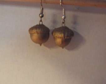 Earrings Acorn