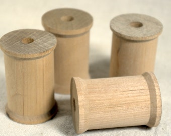 Wooden Spools * craft supplies * thread spools * spools