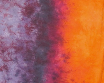 Hand Dyed Fabric Gradient - Summer Sunset