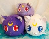 Sailor Moon Luna Artemes Diana Cat Loafs