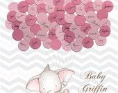 Baby Shower Guest Book Alternative Print - Girl