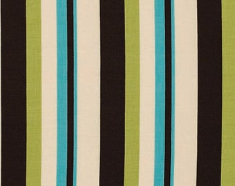 Free Spirit Fabric Denyse Schmidt Ansonia - Wide Stripe - PWDS064 Mossy BTY