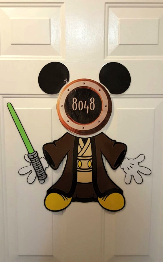 Mickey Jedi Star Wars Mickey Disney Cruise Body Part