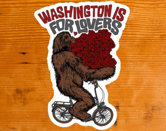 Washington is for Lovers | Sticker