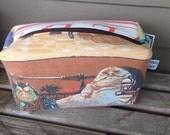 Star War Jabba the Hut Zipper Pouch Recycled