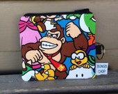 Donkey Kong Mini Wallet with ID Holder