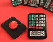 Cheeky Calculator Pin - Geeky Pins, Maths Pin, Stocking filler, Funny Lapel Pin, Tie Pin, Teacher Gift, Nerd Gift, Rude Gift, Back to School