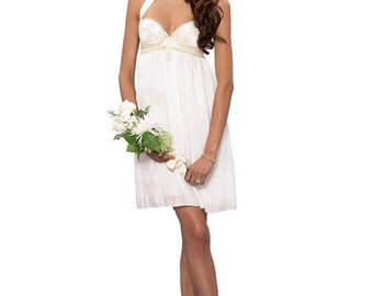 Bridgette Short Wedding Dress