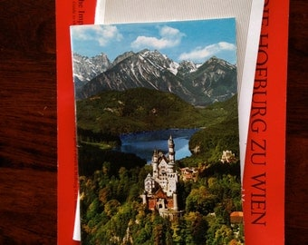 Collection of Three Vintage Austrian Travel Books - Dated 1970's and 1980's