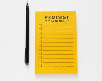Feminist Note Pad