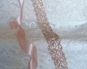Rose Gold Crystal Rhinestone Bridal Sash,Wedding sash,Bridal Accessories,Bridal Belt and sashes,Ribbon Sash,Style #24