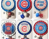 TOP Only**Chicago Cubs Interchangeable Badge Reel Tops  *PICK one*