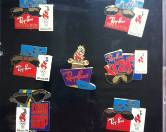 1996 Olympic RayBan collector Pins