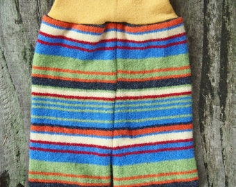 Small/ Medium Lambswool and Merino wool Diaper Cover Shorties with  2 layers of protection