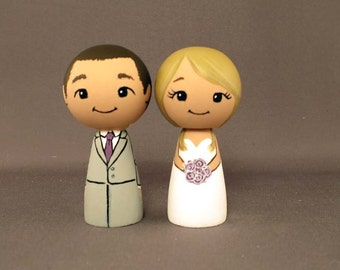 Wedding Cake Toppers Blonde Bride Doll