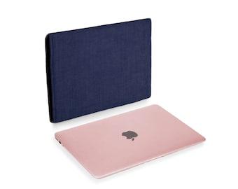 Apple MacBook 12 inch Natural Linen Navy