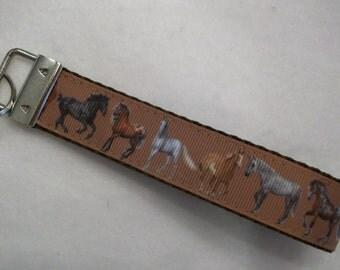 Horse Lover Key Fob / Key Wristlet
