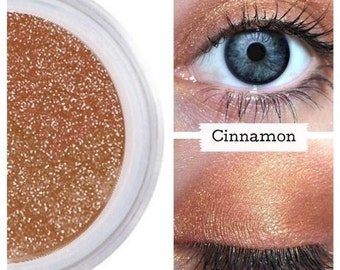 Copper Metallic, Eye Shadow Eyeshadow, Mineral Make Up, Liner Eyeliner, Natural Cosmetics, Minimal Ingredients, Sensitive Eyes, CINNAMON