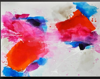 Confetti - 30x40 - Abstract Acrylic Painting - Modern Contemporary Fine Wall Art
