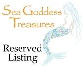 Reserved Listing for Karen Black
